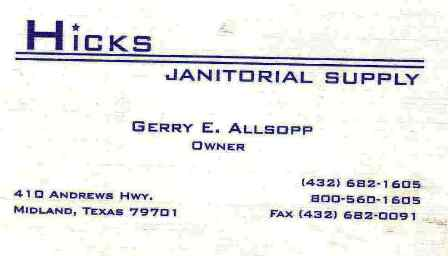 Hicks Janitorial